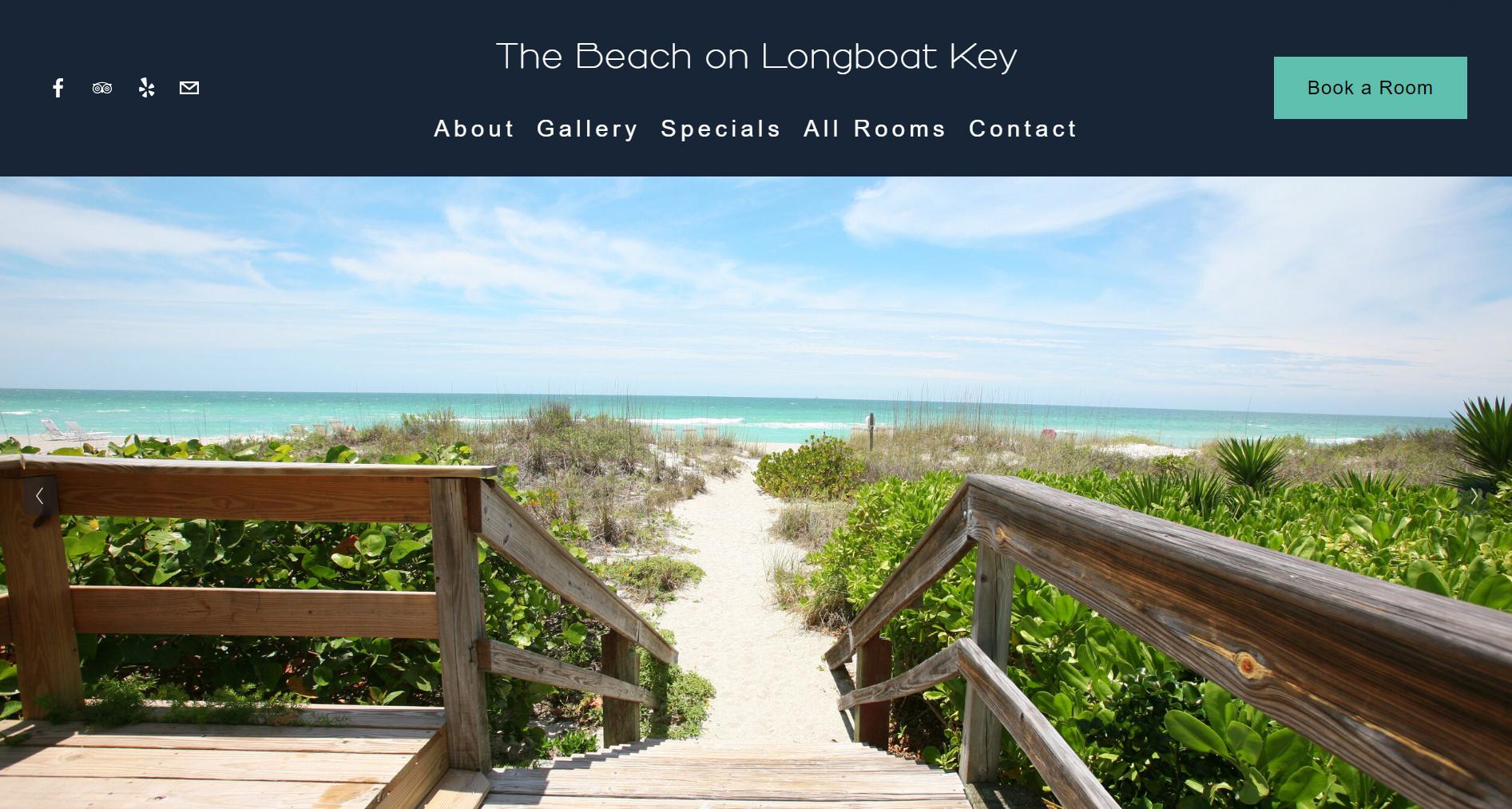 The Beach on Longboat Key New Website