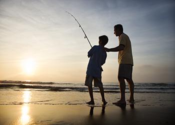 Family Fishing in Sarasota, Florida with RVA Vacation Rentals