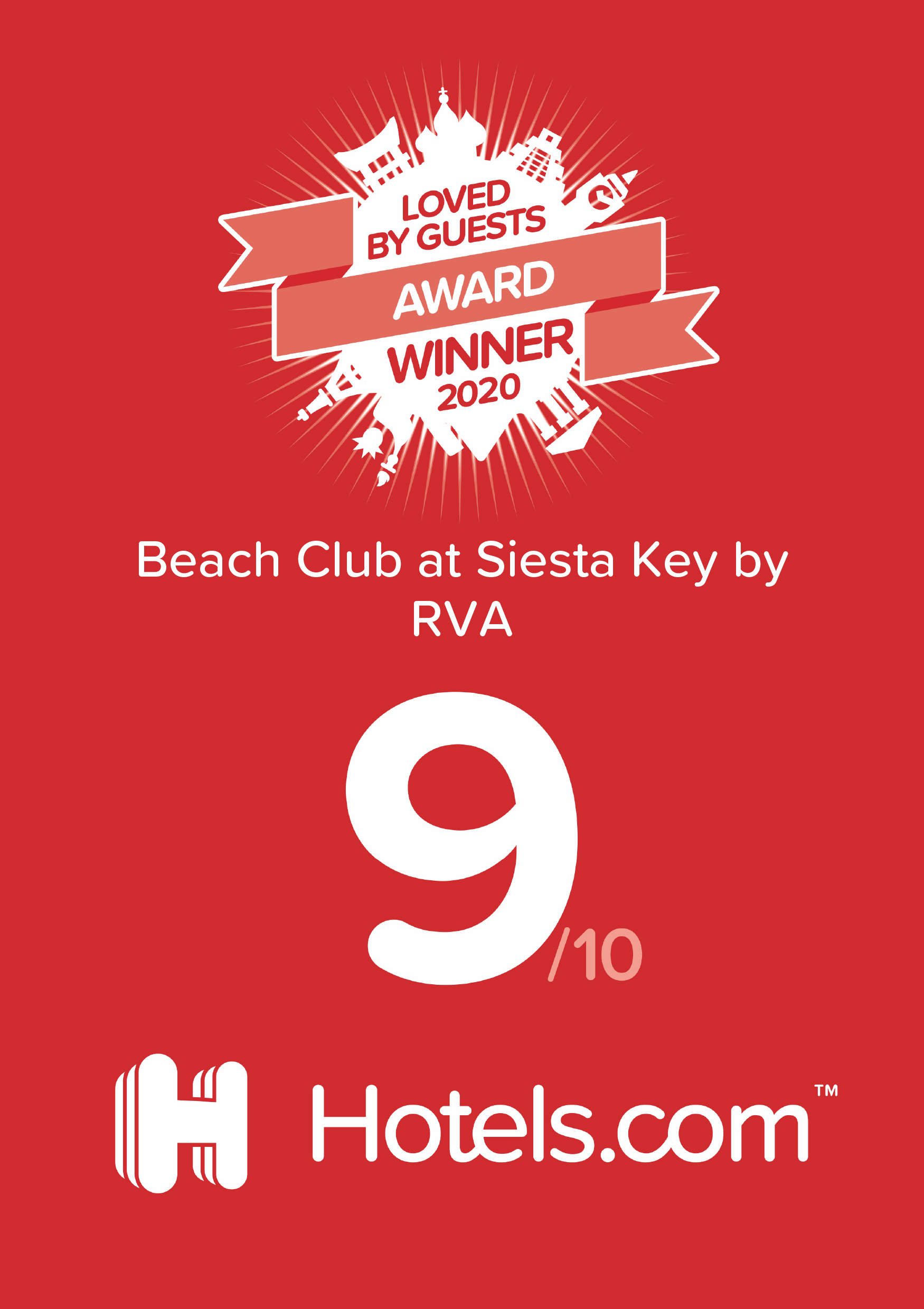 Loved by Guests to Beach Club at Siesta Key by RVA