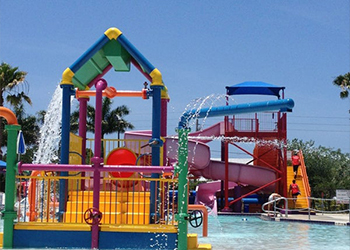 YMCA Water Park in Sarasota, Florida with RVA