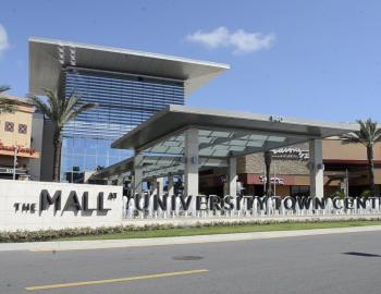 The Mall at UTC in Sarasota, Florida with RVA Vacation Rentals