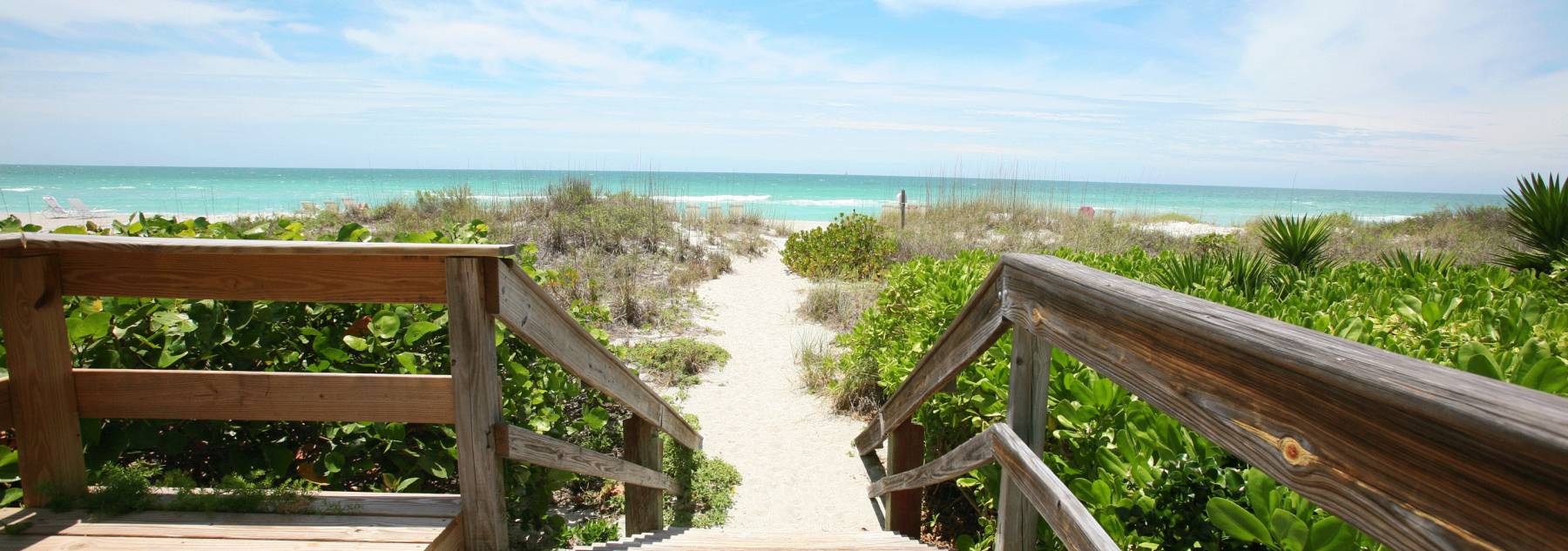 The Beach on Longboat Key with RVA Vacation Rentals